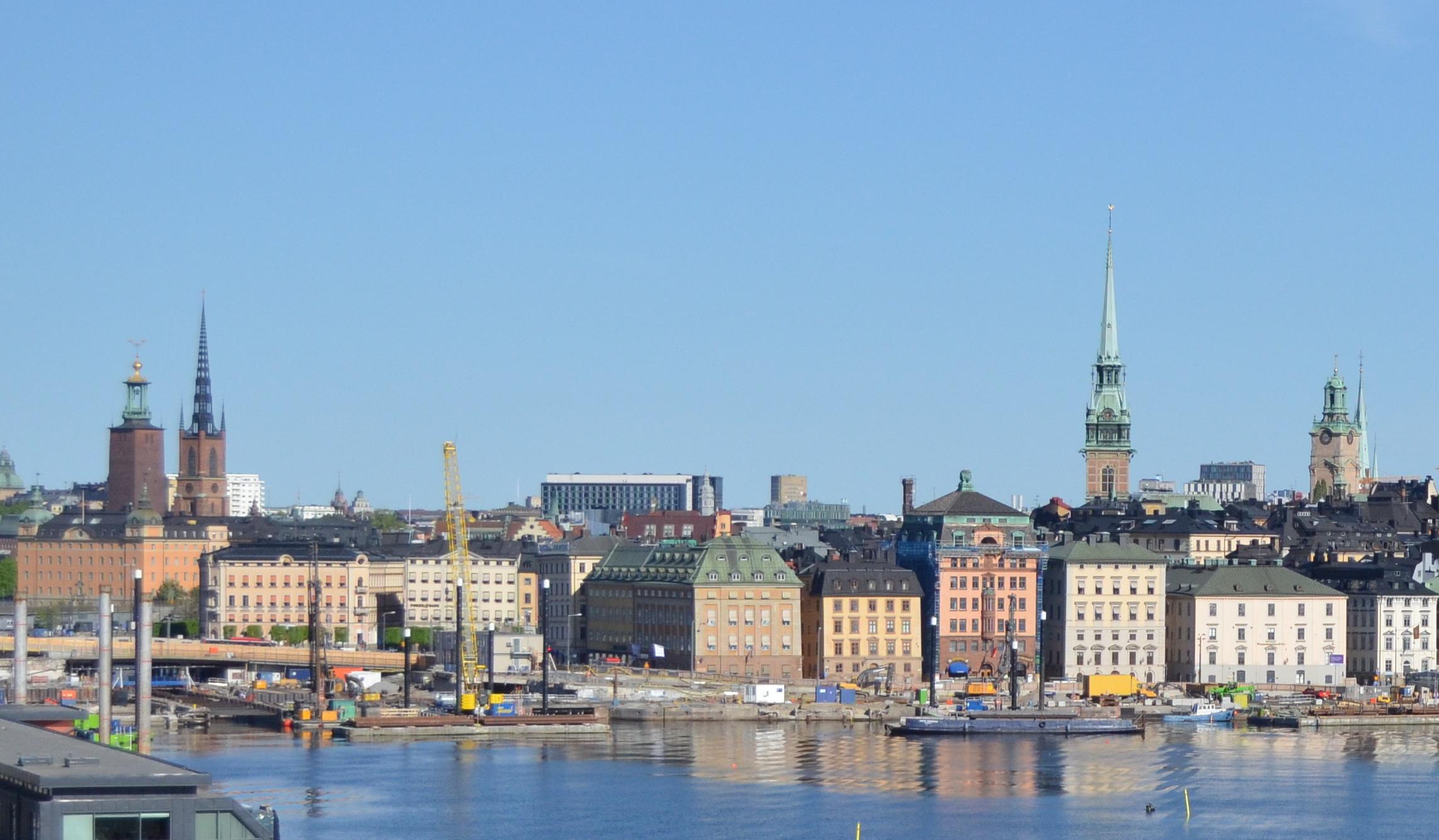 Arriving Stockholm