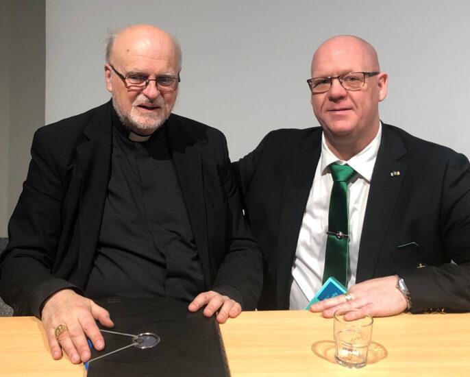 Meeting with Cardinal Arborelius